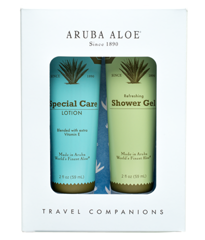 Refreshing Shower Gel and Special Care Lotion (Travel Duo) - Aruba Aloe