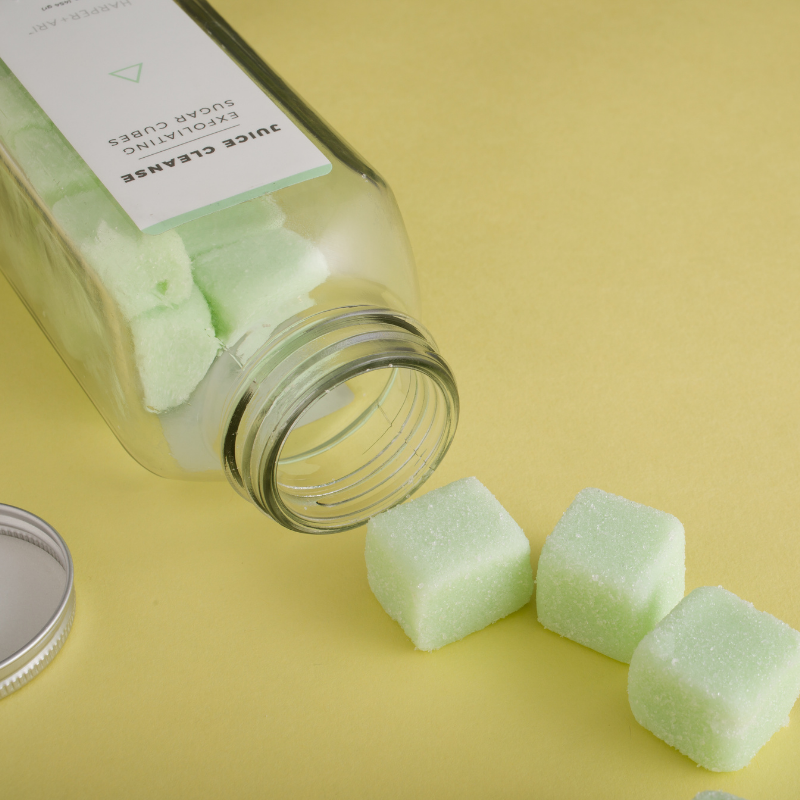 Juice Cleanse Exfoliating Sugar Cubes Scrub