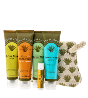 Skin Care Travel Essentials - Aruba Aloe