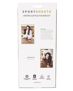 Sportsheets Neoprene Cuffs & Tether Kit
