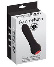 Load image into Gallery viewer, Femme Funn Ultra Bullet Massager- Black-Pink-Purple-Turquoise