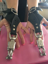 Load image into Gallery viewer, Dragontailz Female Suspension Cuffs - Black