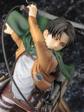 Attack on Titan Artfx J Levi Renewal Package Ver. PVC Action Figure Anime Figure Model Toys Collectible Doll Gift