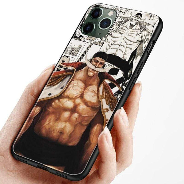 Coque Whitebeard Edward Newgate One Piece housse iPhone 6 6s 7 8 Plus X XR XS 11 Pro Max soft silicone Phone case cover shell