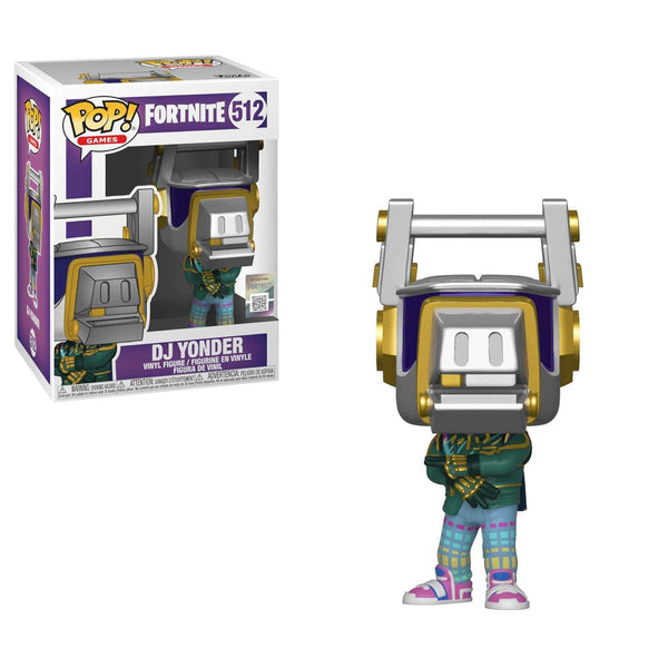 Figurine funko pop fortnite DJ YONDER fortnight 512