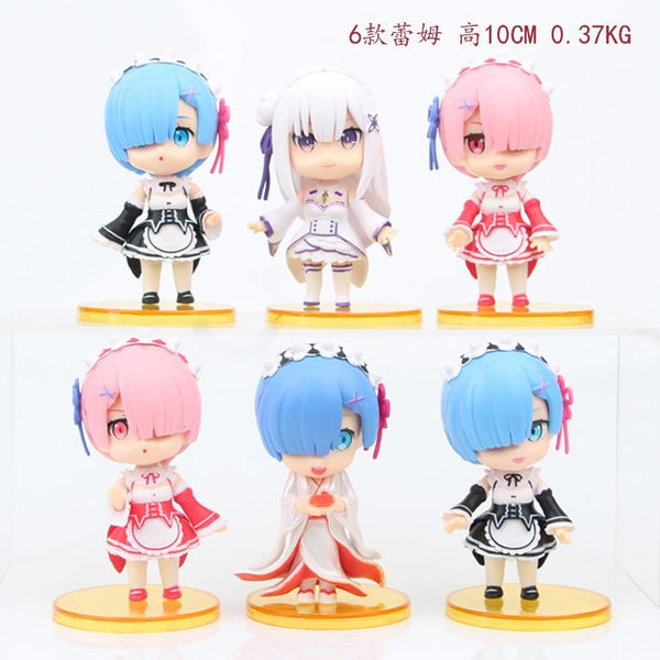 Figurine Rem Re: Starting Life In A Different World From Zero Ram Rem Emilia Beatrice Felix PVC