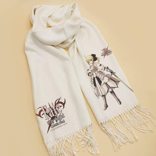 Goodies Fate/stay Night Saber Arturia Scarves Sakata Gintoki Cosplay écharpe 185 CM Cosplay Cadeau