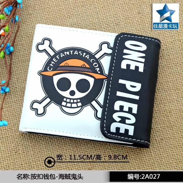 Goodies One Piece the Skull of Luffy portefeuille