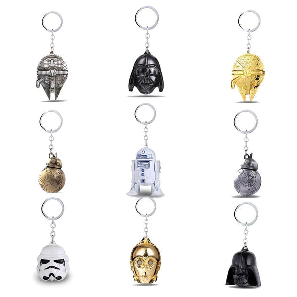 Goodies Star Wars Falcon Destroyer StormTrooper Dark Vador porte-clés pendentif décapsuleur bijoux