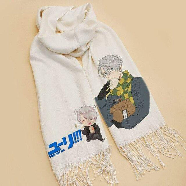Goodies Yuri on ice Viktor Scarf Cosplay écharpe 185 cm