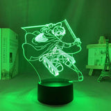 Lampe Attack on Titan Levi Ackerman lampe led 3D cadeau décor goodies manga