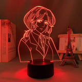 Lampe Attack on Titan Pieck Finger lampe led 3D cadeau décor goodies manga