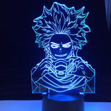Lampe Boku no Hero Academia Shinsou Hitoshi lampe led 3D cadeau décor goodies cosplay