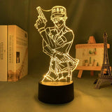 Lampe Cells At Work lampe led 3D cadeau décor goodies manga