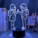 Lampe Erased  Erased Room lampe led 3D cadeau décor goodies manga
