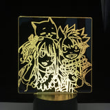 Lampe Fairy Tail lampe led 3D cadeau décor goodies cosplay