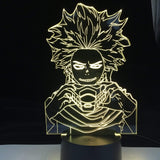 Lampe Hitoshi Shinso My Hero Academia Hitoshi Shinso lampe led 3D cadeau décor goodies manga
