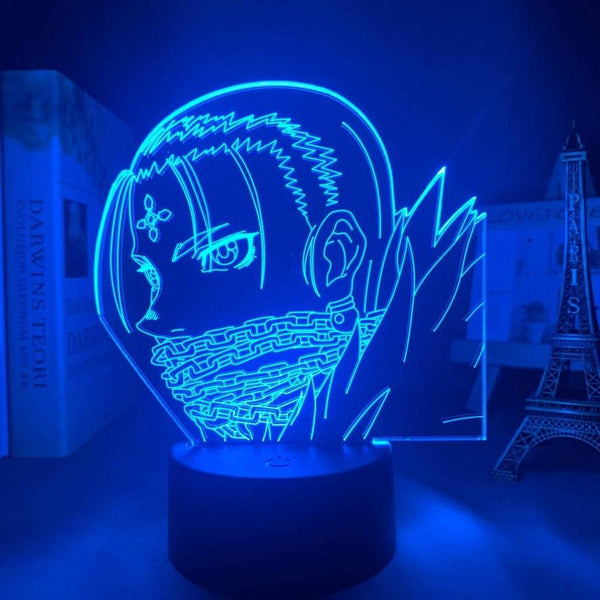 Lampe Hunter X Hunter Kulolo lampe led 3D cadeau décor goodies manga