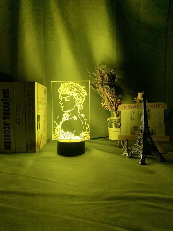 Lampe JoJo's Bizarre Adventure Art Gadget Lampe Led 3D veilleuse Décor