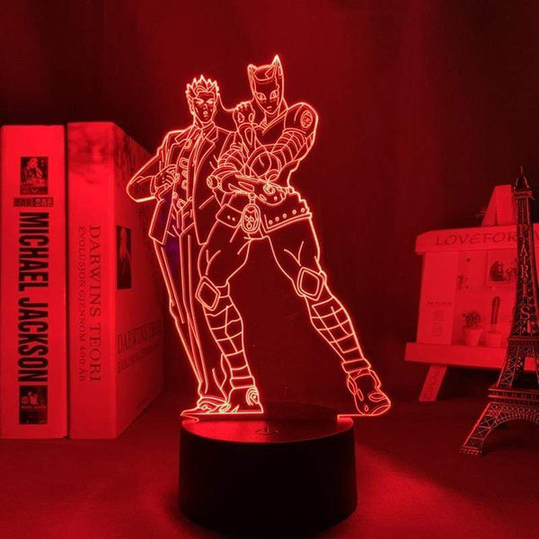 Lampe JoJo's Bizarre Adventure goodies lampe led 3D décor cadeau