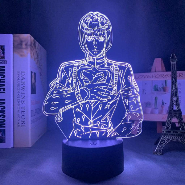 Lampe led 3D jojo's bizarre adventure Bruno Bucciarati JoJo Bizarre Adventure  Lampe led 3D goodies