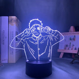 Lampe Night Light Haikyuu Daichi Sawamurap lampe led 3D cadeau décor goodies manga