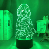 Lampe Saekano How To Raise A Boring Girlfriend Lampe led 3D cadeau décor goodies manga