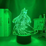 Lampe Spice and Wolf Holo Lampe led 3D cadeau décor goodies manga