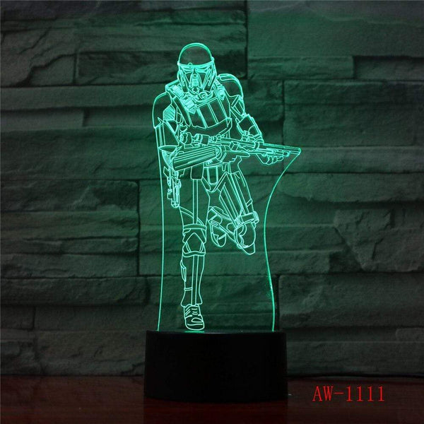 Lampe Star Wars Darth Vader Knight lampe led 3D cadeau décor