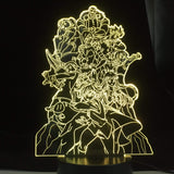 Lampe The Seven Deadly Sins lampe led 3D cadeau décor goodies