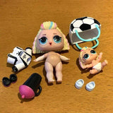 Lot poupée LOL Surprise Lil Sisters dolls eye spy 80s b.b.
