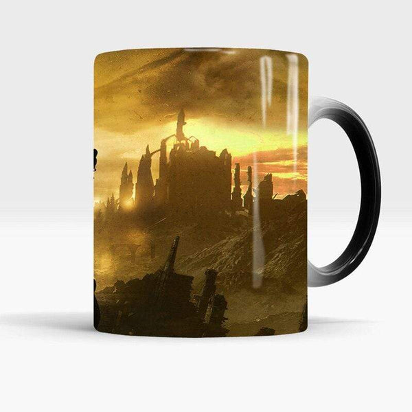 Mug Tasse Dark Souls Temperature Sensitive changement de couleur Mug Coffee Tea Mug Cup