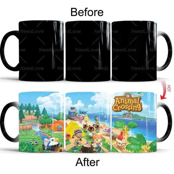 NS Nintendo Switch Mug TASSE animal crossing new horizons Magic Mug