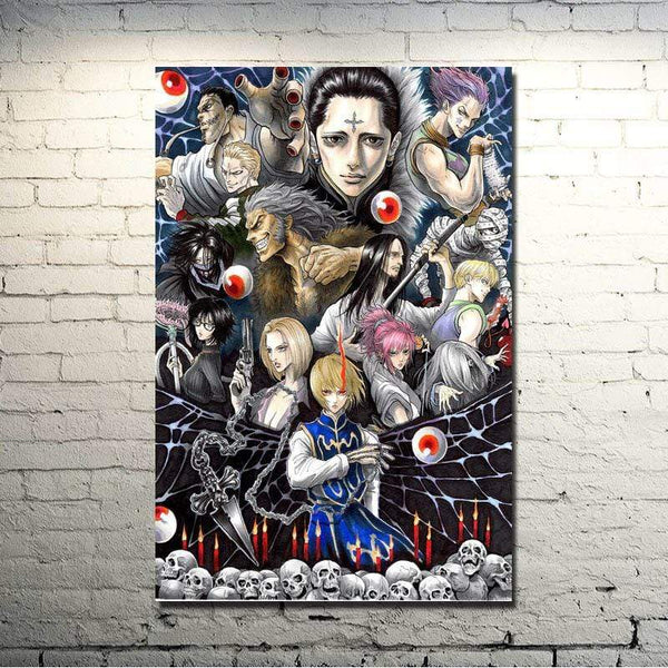 Poster Hunter x Hunter affiche murales pour décoration salon Killua GON FREECSS