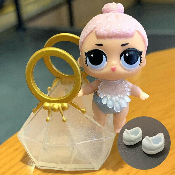 Poupée Lol surprise LIL CRYSTAL QUEEN series 2 RARE