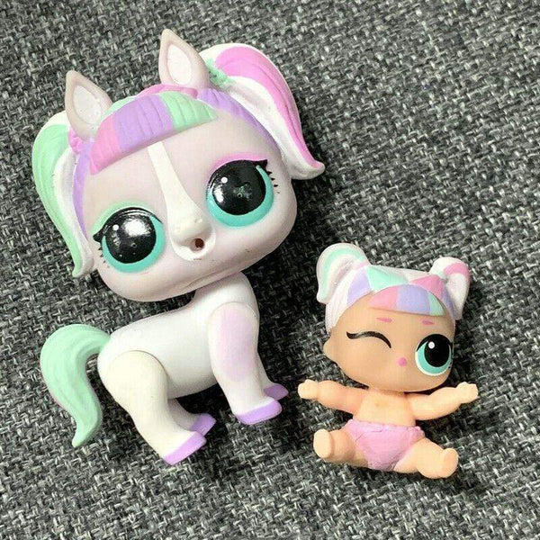 Poupée LOL Surprise unipony Unicorn's Pet Pony Eye Spy et Lil Unicorn
