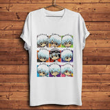 T-shirt gintama Silver Haired Samurai kawaii GINTAMA coton décontracté mode