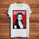 T-shirt one piece Archaeologist Nico Robin Tshirt coton décontracté mode goodies cosplay