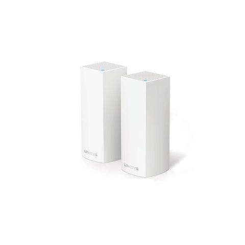 Linksys Velop Intelligent Mesh WiFi System Tri-Band 2-Pack (AC4400)