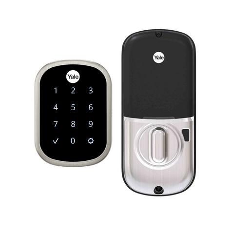 Yale Assure Lock SL Touchscreen Deadbolt & WiFi- Satin Nickel