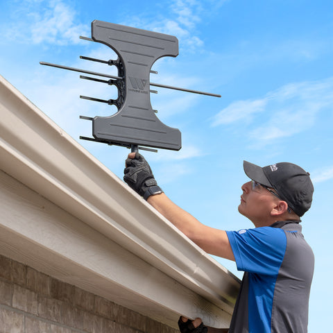 Outdoor Over The Air Antenna Installation