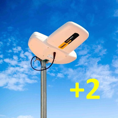 AirTV Outdoor Over The Air Antenna & AirTV Anywhere & 2 AirTV Minis Bundle