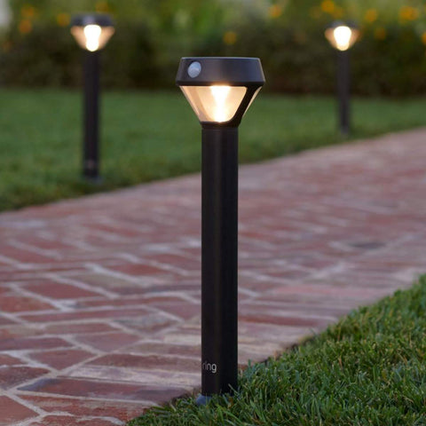 Ring Outdoor Mounted Lighting Installation