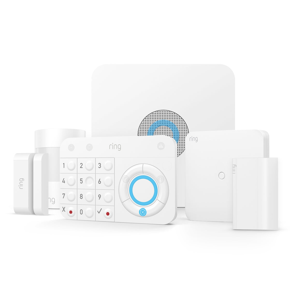 Ring Retrofit Alarm Kit Installation + Ring 5 Piece Alarm Security Kit Installation