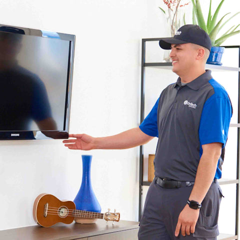 "GoWireless/FixIt Mobile TV Mounting & Installation 50"" or Smaller"