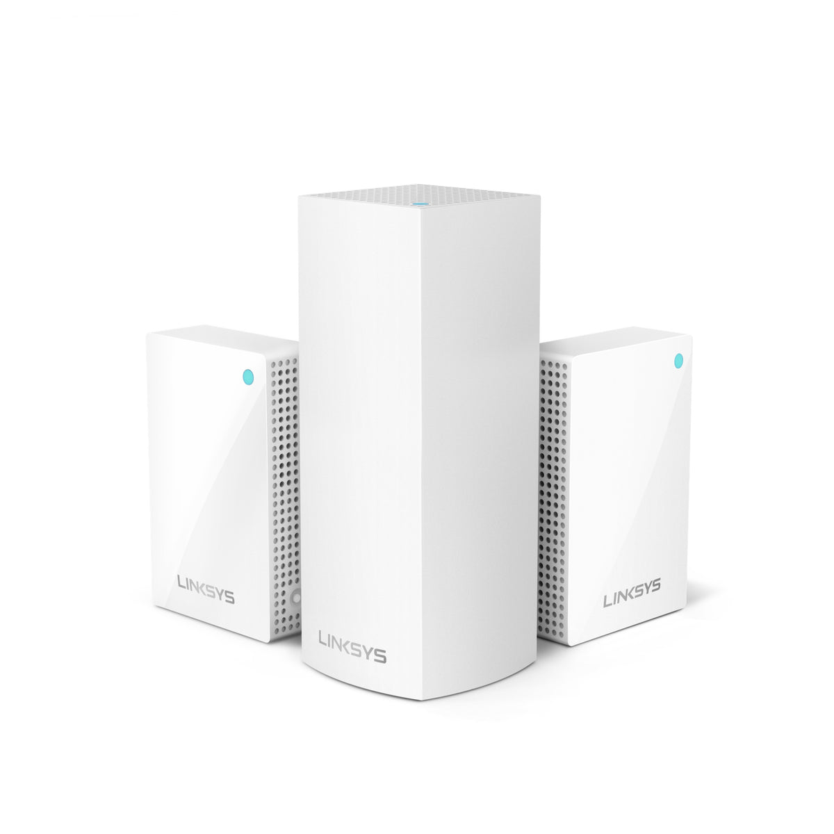 Linksys Velop Intelligent Mesh WiFi System, Combo Pack (1 Tri-Band + 2 Plug-in)