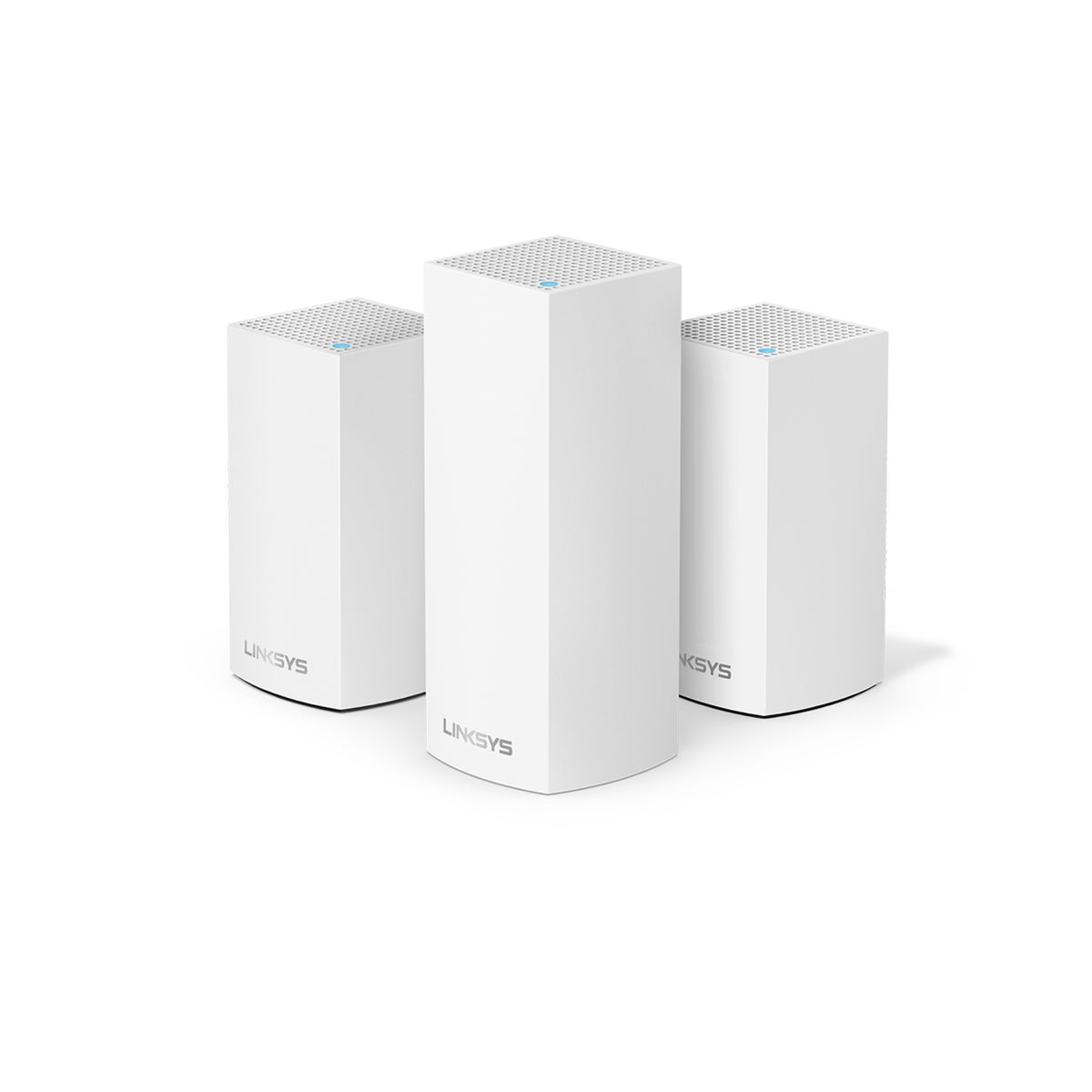 Linksys Velop Intelligent Mesh WiFi System, Combo Pack (1 Tri-Band + 2 Dual-Band)