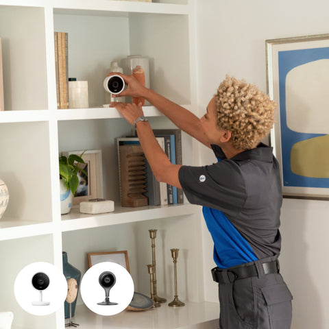 Google Nest Cam Indoor Installation