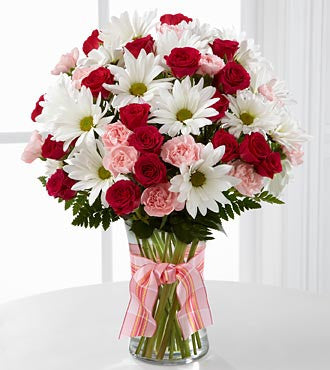 The FTD® Sweet Surprises® Bouquet - VASE INCLUDED