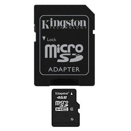 Memoria Micro Sd 4gb Kingston Clase 4 Sdc4/4gb